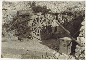 Obice da 210 mm. sul Sabotino