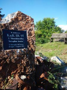 Cippo a ricordo del K.u.K Isontino