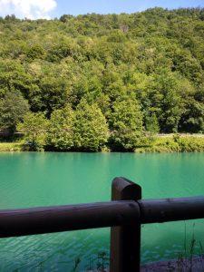 L'Isonzo dalla ciclabile