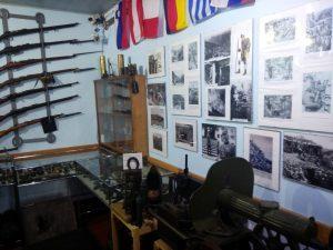 Galleria fotografica nel rifugio del Sabotino