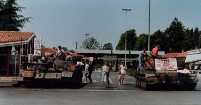 Venticinque anni fa la Guerra dei dieci giorni in Slovenia