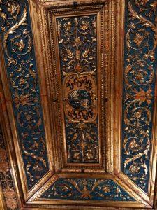 Particolare soffitto del secondo studiolo e l'Appartamento della Grotta di Isabella d'Este
