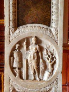 Stucchi nel secondo studiolo e l'Appartamento della Grotta di Isabella d'Este