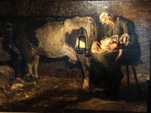 Giovanni Segantini (1858- 1899) Le due madri 1889