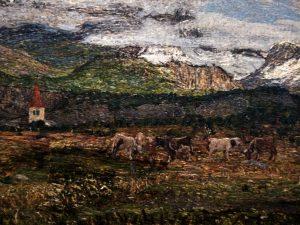Giovanni Segantini (1858- 1899) Paesaggio sul Maloja (Ritorno al paese natio) 1895