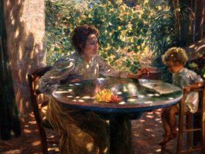 Plinio Nomellini (1866- 1943) Prime letture 1906