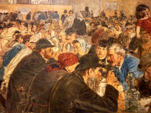 Attilio Pusterla (1862- 1941) Alle cucine economiche di Porta Nuova 1887