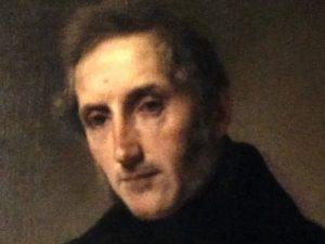 Particolare Francesco Hayez (1791- 1882) Ritratto di Alessandro Manzoni 1874