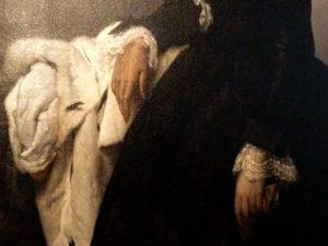 Particolare 2 Francesco Hayez (1791- 1882) Ritratto di Matilde Juva Branca 1851