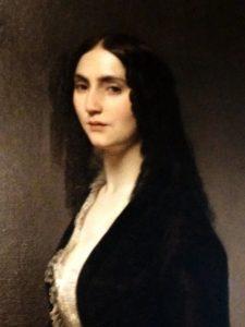 Particolare Francesco Hayez (1791- 1882) Ritratto di Matilde Juva Branca 1851