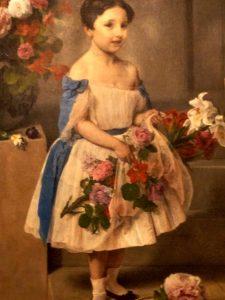Francesco Hayez (1791- 1882) Ritratto della contessina Antonietta Negroni Prati Morosini 1858
