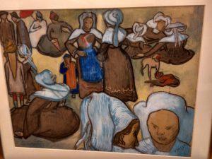 Vincent Van Gogh (1853- 1890) Les bretonnes et le pardon de pont Aven 1888