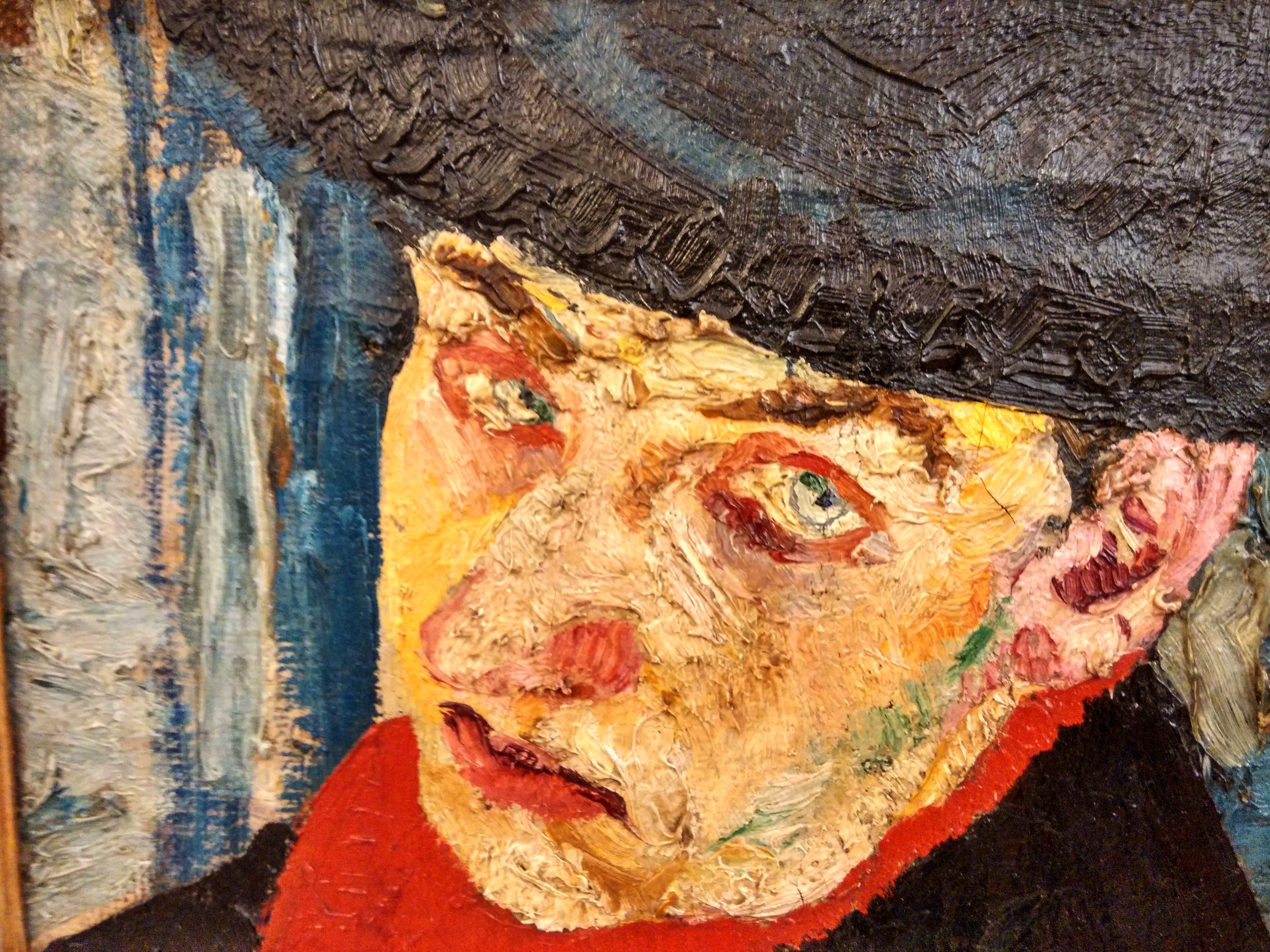 Fausto Pirandello (1899- 1975) Autoritratto 1940