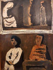 Mario Sironi (1885- 1961) L'oracolo 1952