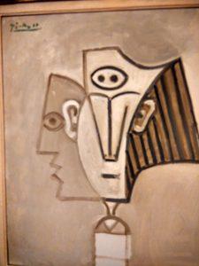Pablo Picasso (1881- 1973) Tete de femme (La Mediterranée) 1957