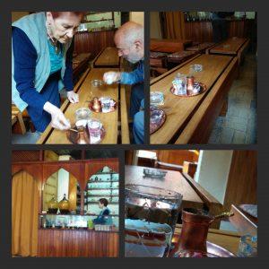 L'arte del caffè nella bosanska kafana Behar a Sarajevo