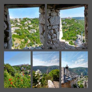 Pocitelj dalla torre e dalla rocca