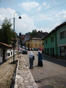 camminando verso Pekara Alifakovac