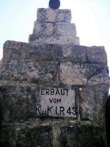 """Monumento nei pressi del """"Trono di Borojevic"""""""