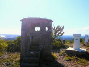 Il posto di guardia del monte Kremenjak