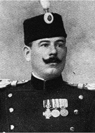 Colonello Dragutin Dimitrijevitch (alias Apis), il capo dell'intelligence militare serba