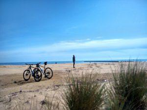 Tra le dune verso la Punta Canal dei Lovi