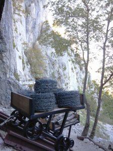 Filo spinato All'arrivo della funicolare sul Monte Sabotino