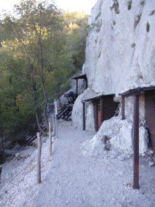 Entrata delle gallerie Lato nord del Monte Sabotino