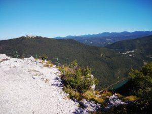 Monte Sabotino Sulla cima sopra il rifugio