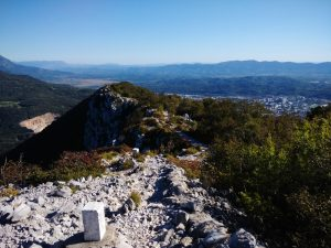 Camminare per cresta sul Sabotino Verso il Monte San Gabriele Skabriel e Nova Gorica