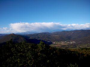 Monte Santo e Grgar dal Monte San Gabriele