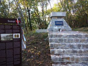 Il monumento della Honved sul Monte San Gabriele