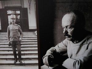 Il generale Boroevic in due immagini