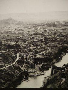 Il ponte ferroviario sull'Isonzo di Salcano Solkan bombardato durante la prima guerra mondiale