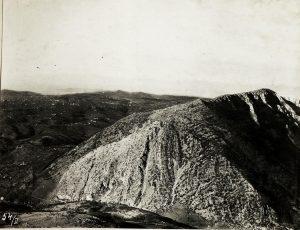 Panorama dal Monte San Gabriele quota 646 anno1915