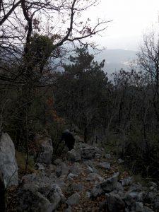 Pietraia di salita al Monte Santo