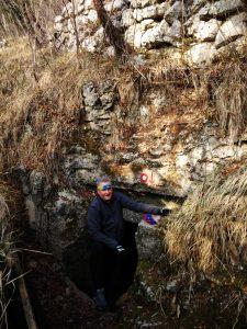Punto di accesso al Tunnel sotto Sveta Gora - Monte Santo