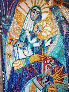 Mosaico a Monte Santo Sveta Gora