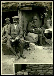 Il maestro Arturo Toscanini sul Monte Santo