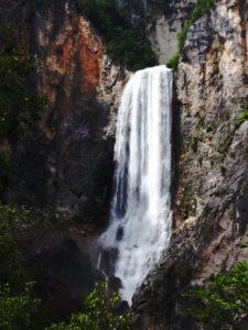La cascata Boka