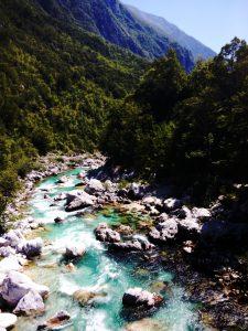 L'Isonzo fiume smeraldo