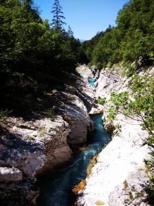 Canyon dell'Alta Valle dell'Isonzo