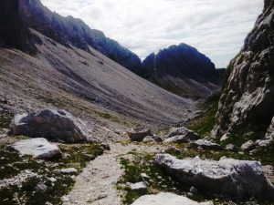 il vallone glaciale Po Luznici