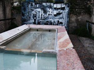 Immagine storica del lavatoio di Arco