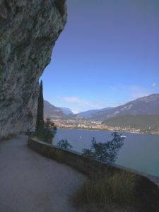 Scorcio di Riva dal Sentiero del Ponale