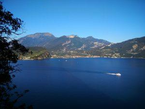 Il lato nord del Lago di Garda