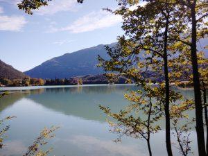 Il Lago di Toblino ed il castello