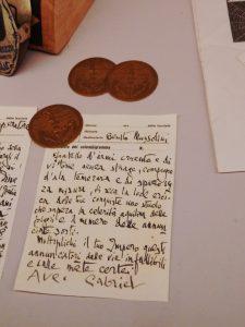 La lettera spedita a Mussolini da d'Annunzio