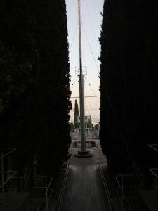 L'albero della nave Puglia al Vittoriale