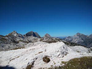 Il Picco di Grubia il Monte Sart e il Col Sciaf
